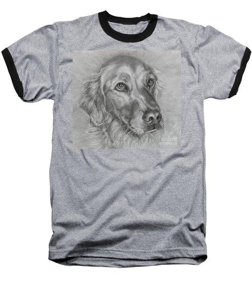 Golden Retriever Drawing Baseball T-Shirt