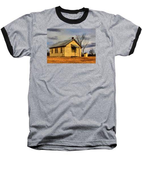 Baseball T-Shirt featuring the digital art Golden Rule Days by Sharon Batdorf