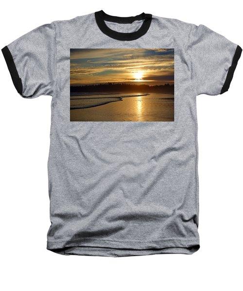 Long Beach, British Columbia Baseball T-Shirt by Heather Vopni