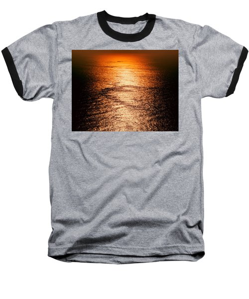 Golden Sea In Alanya Baseball T-Shirt