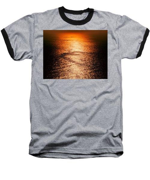 Golden Sea In Alanya Baseball T-Shirt