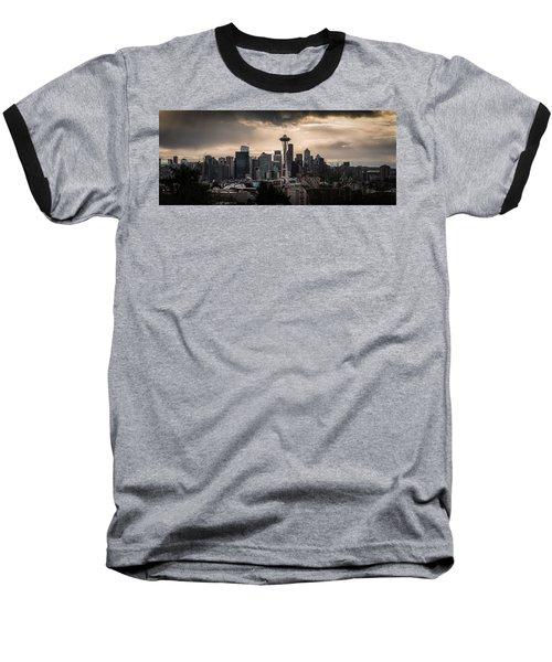 Golden Seattle Baseball T-Shirt by Chris McKenna