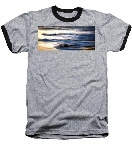 Golden Serenity Baseball T-Shirt