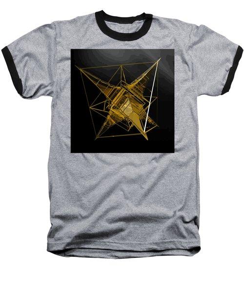 Golden Space Craft Baseball T-Shirt