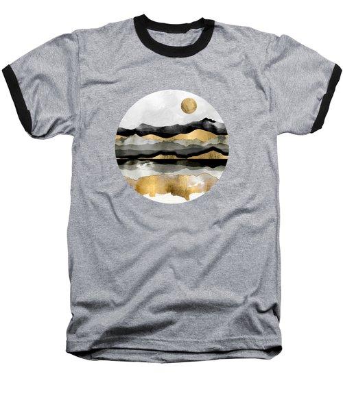 Golden Spring Moon Baseball T-Shirt