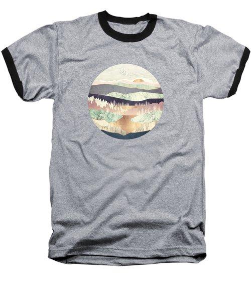 Golden Spring Reflection Baseball T-Shirt