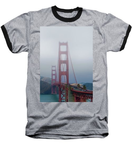Baseball T-Shirt featuring the photograph Golden State Golden Gate  by Joseph Hollingsworth
