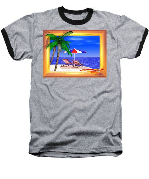 Golden Summer Baseball T-Shirt