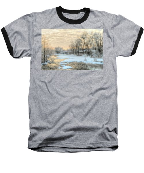 Golden Sunrise Signed Baseball T-Shirt