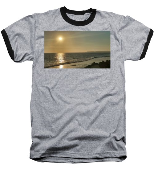 Golden Sunset Baseball T-Shirt