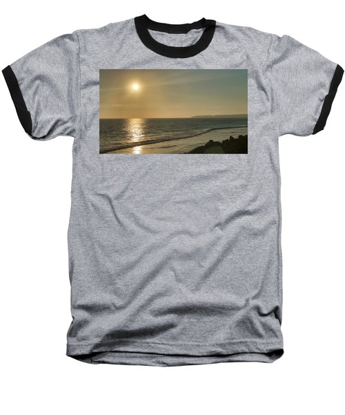 Golden Sunset Baseball T-Shirt