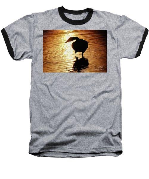 Baseball T-Shirt featuring the photograph Golden Swan by Tatsuya Atarashi