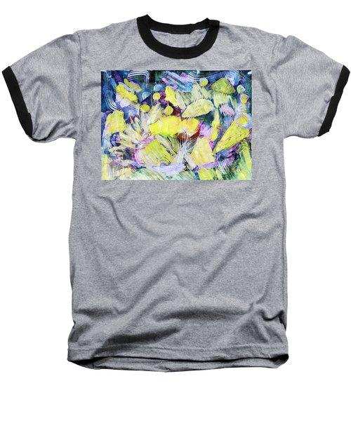 Golden Swirls Baseball T-Shirt