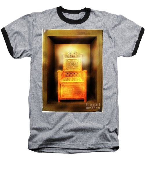 Golden Throne Baseball T-Shirt