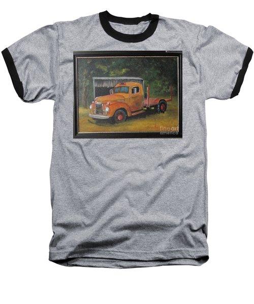 Golden Truck  Baseball T-Shirt