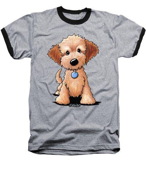 Goldendoodle Puppy Baseball T-Shirt