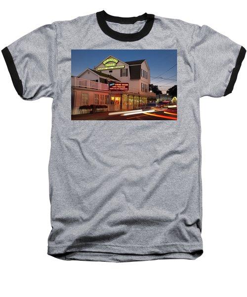 Goldenrod Kisses Luncheonette York Beach Maine Baseball T-Shirt