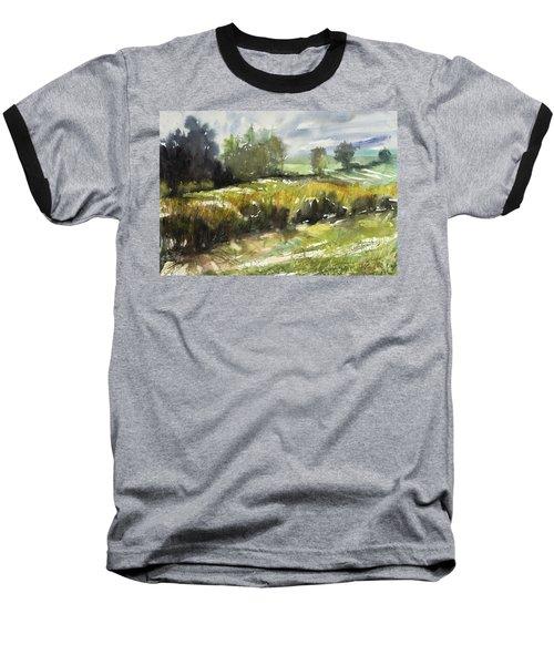 Goldenrod On The Lane Baseball T-Shirt