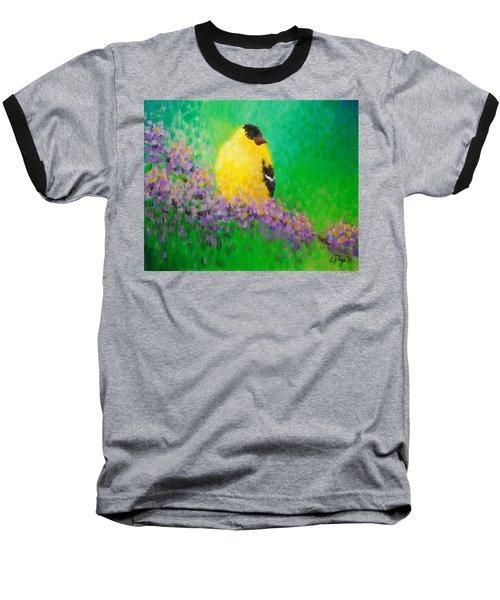 Goldfinch II Baseball T-Shirt
