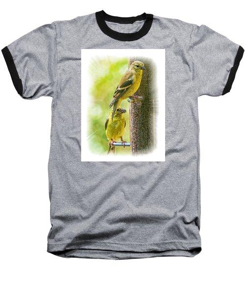 Goldfinches Baseball T-Shirt