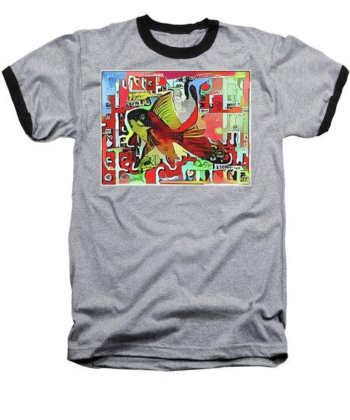 Goldfish #2 Baseball T-Shirt
