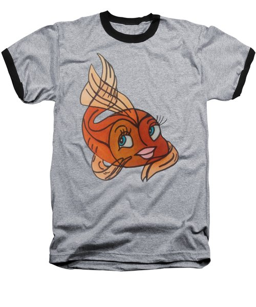Goldie Baseball T-Shirt by Darci Smith