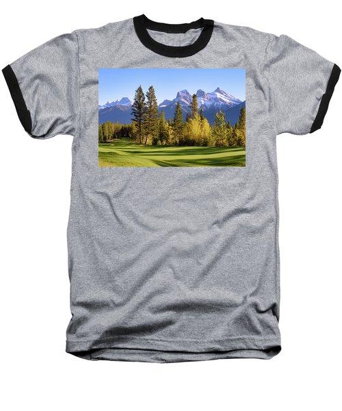 Silvertip Golf Course Baseball T-Shirt