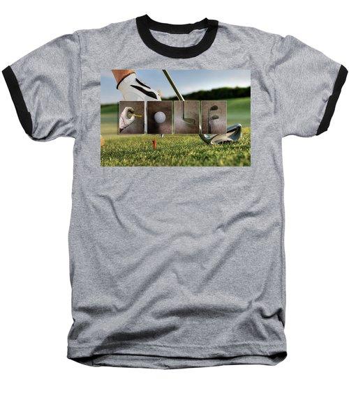Golf Baseball T-Shirt