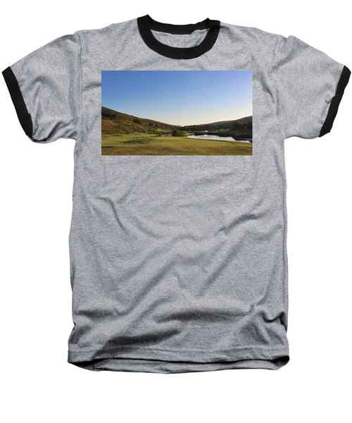 Golf - Natural Curves Baseball T-Shirt