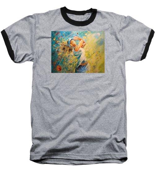Golf Passion Baseball T-Shirt