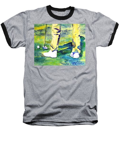 Golf Series - High Hopes Baseball T-Shirt by Betty M M Wong