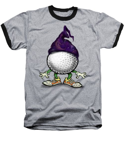 Golf Wizard Baseball T-Shirt