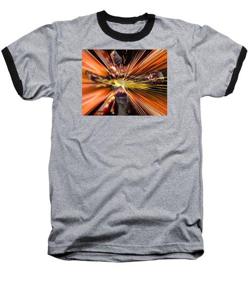 Golgotha Baseball T-Shirt by Seth Weaver
