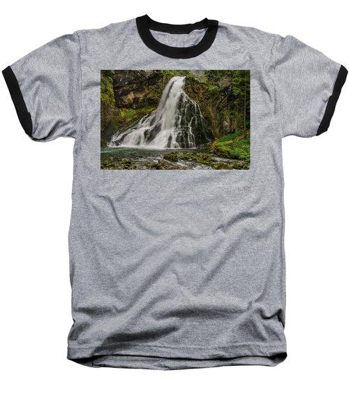Golling Falls Baseball T-Shirt by Ulrich Burkhalter