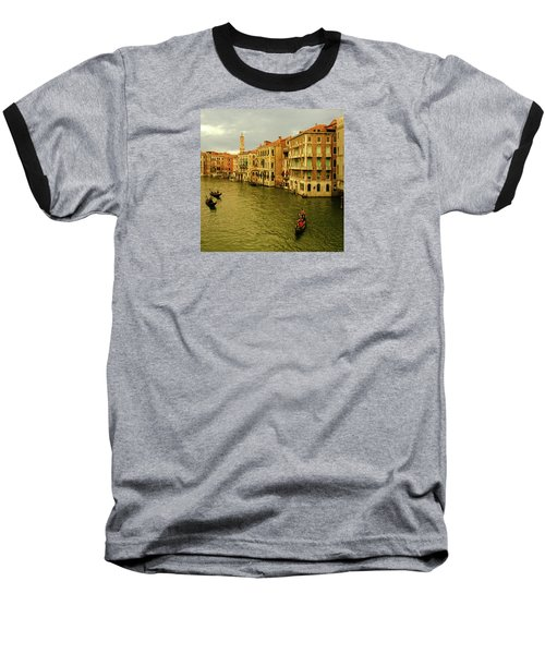 Baseball T-Shirt featuring the photograph Gondola Life by Anne Kotan