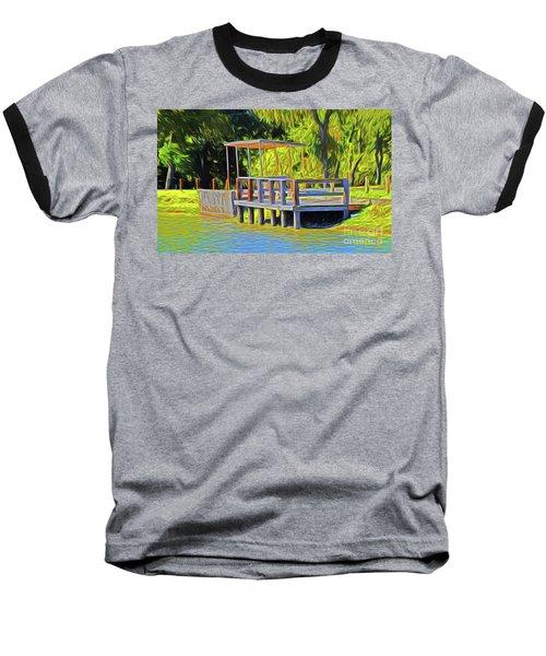 Gone Fishing 18-11 Baseball T-Shirt