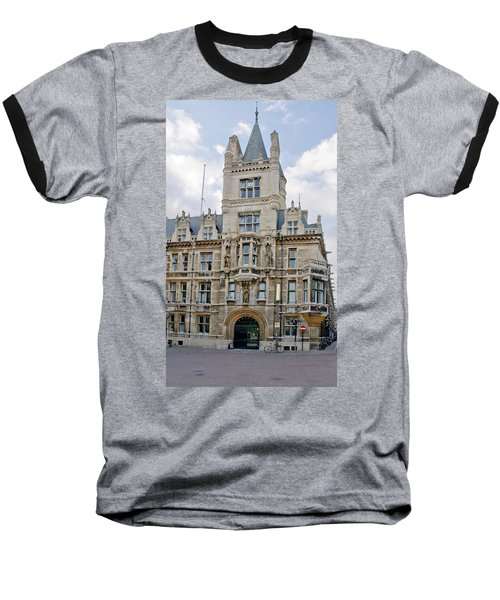 Gonville And Caius College. Cambridge. Baseball T-Shirt