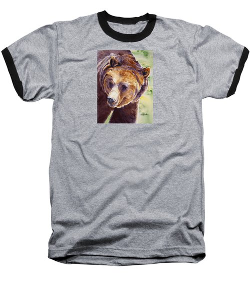 Good Day Sunshine - Grizzly Bear Baseball T-Shirt