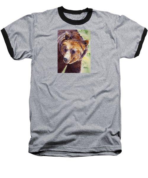 Good Day Sunshine - Grizzly Bear Baseball T-Shirt