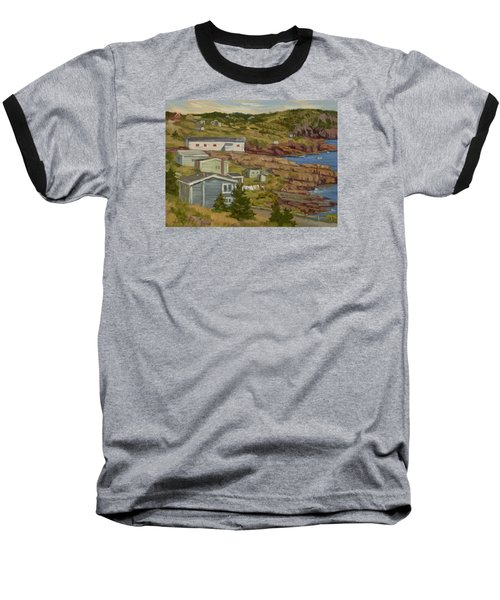 Good Dry Day Baseball T-Shirt by Jane Thorpe