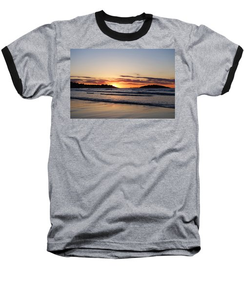 Good Harbor Beach At Sunrise Gloucester Ma Baseball T-Shirt