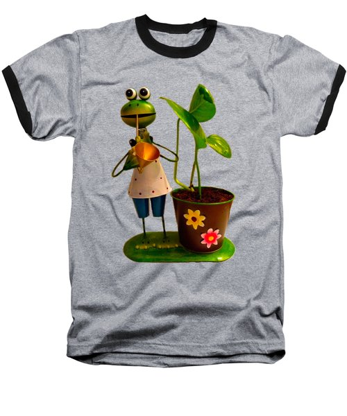 Good Luck Baseball T-Shirt by Carlos Avila