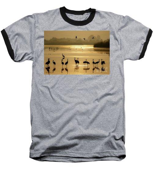 Good Morning Chula Lake Baseball T-Shirt