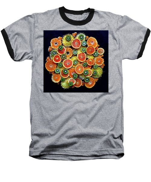 Good Morning Fruit Baseball T-Shirt