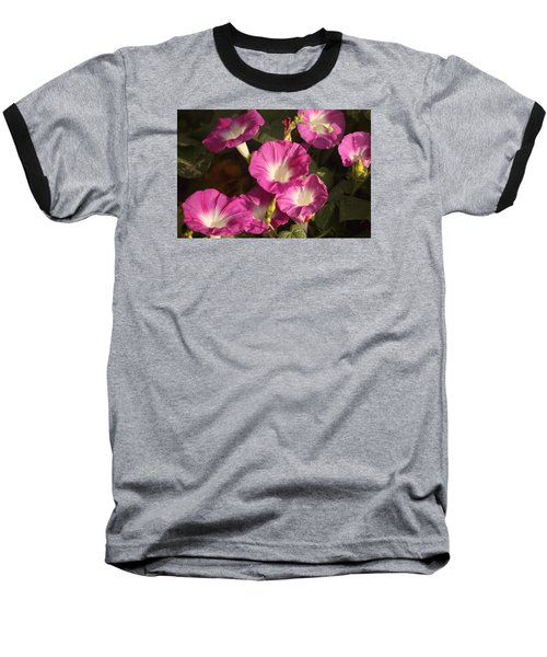 Baseball T-Shirt featuring the photograph Good Morning, Glory by Sheila Brown
