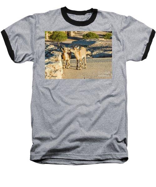 Good Morning Kiss Baseball T-Shirt