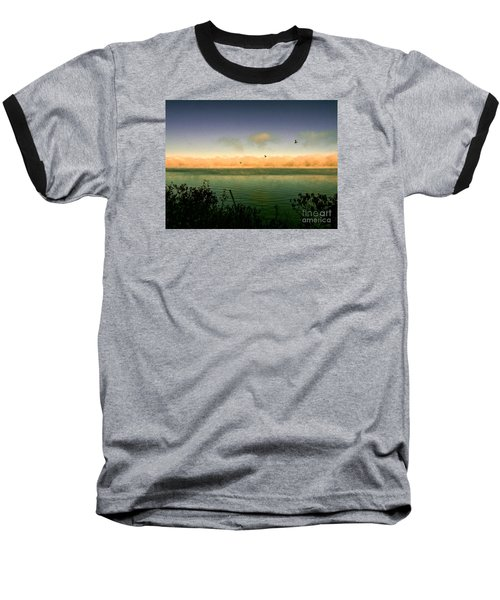 Baseball T-Shirt featuring the photograph Good Morning Lake Winnisquam by Mim White