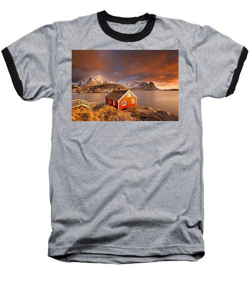 Good Morning Lofoten Baseball T-Shirt
