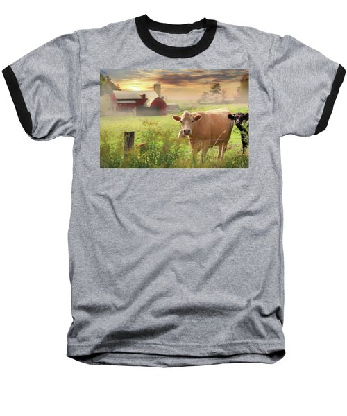 Baseball T-Shirt featuring the photograph Good Morning by Lori Deiter