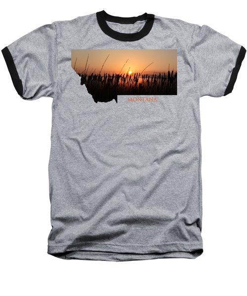 Good Morning Montana Baseball T-Shirt